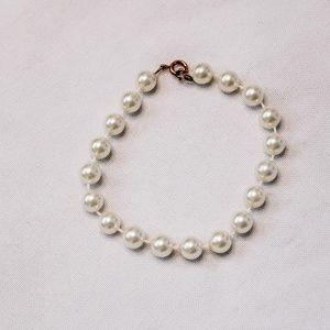 Vintage - Faux Pearl Bracelet